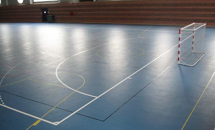 Dimensiones cancha futbol sala - medidas campo futsal - Supreme Floors