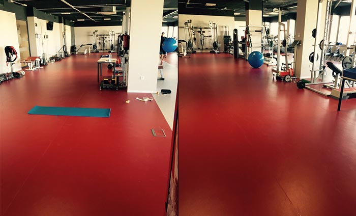 Suelo PVC - Suelo gimnasios - Sportex