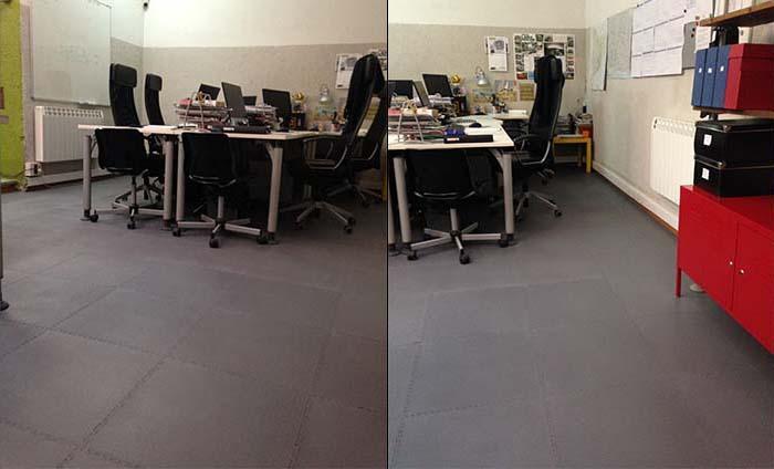 Pavimento vinilico - Suelos oficinas - Traficline