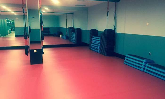 Suelo para gimnasios - Pavimento vinilico en rollos - Sportex